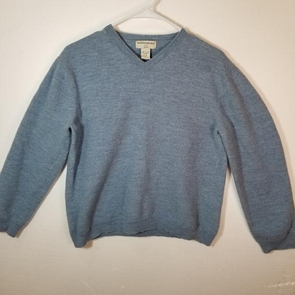 Banana Republic Sweaters Shrunk Merino Wool Vneck Sweater Poshmark